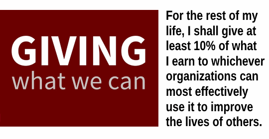 Giving-What-We-Can pledge